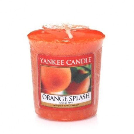 YANKEE VOTIVA ORANGE SPLASH