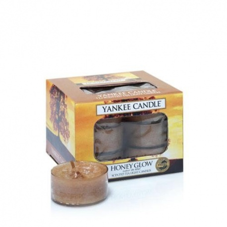 YANKEE TEA LIGHT HONEY GLOW