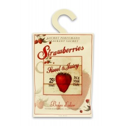 SACHET STRAWBERRIES, SWEET & JUICY