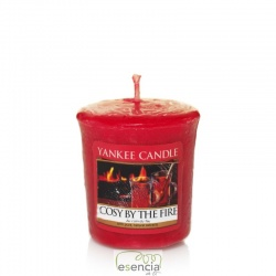 YANKEE VOTIVA COSY BY THE FIRE