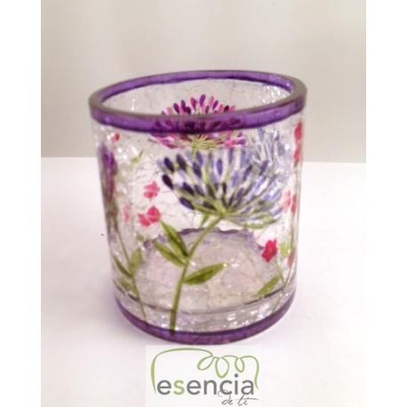 Pack 6 unidades vaso Wild Flowers