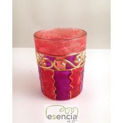 Pack 6 vasos Ola Rojo