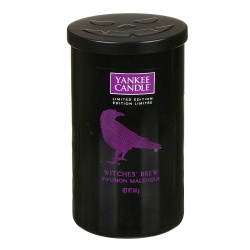 YANKEE HALLOWEEN PILLAR BOTE MED. WITCHES BREW
