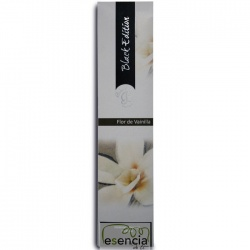 INCIENSO BLACK FLOR DE VAINILLA 20 STICKS