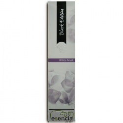 INCIENSO BLACK WHITE MUSK 20 STICKS