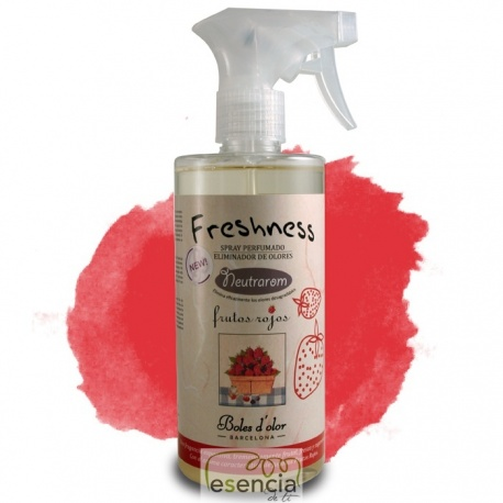 SPRAY 500 ML ELIMINADOR OLORES FRUTOS ROJOS