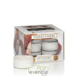 YANKEE TEA LIGHT SOFT BLANKET