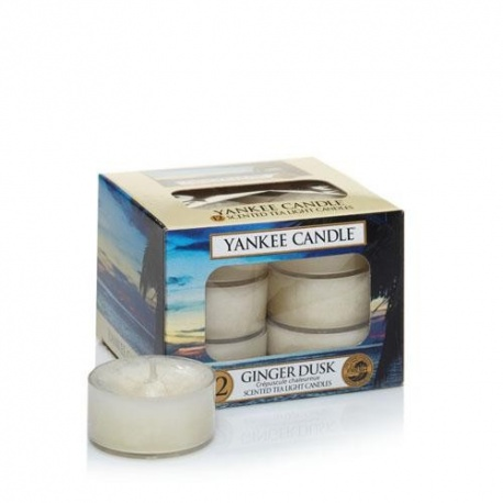 YANKEE TEA LIGHT GINGER DUSK