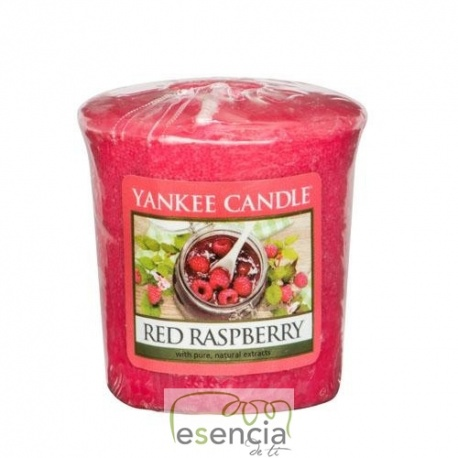 YANKEE VOTIVA RED RASPBERRY