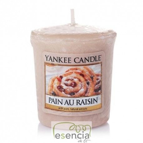 YANKEE VOTIVA PAIN AU RAISIN