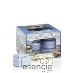 YANKEE TEA LIGHT COASTAL WATERS