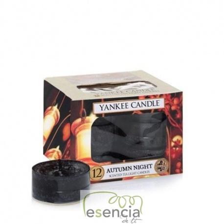 YANKEE TEA LIGHT DREAMY SUMMER NIGHTS 12 UN