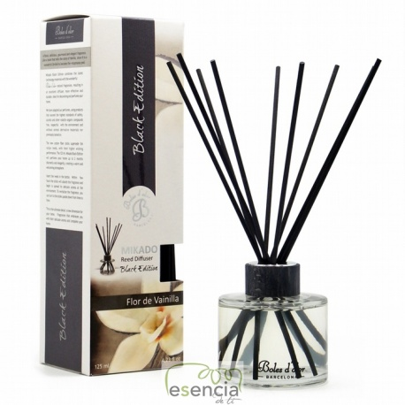 MIKADO BLACK EDITION FLOR DE VAINILLA 125 ML
