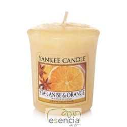 YANKEE VOTIVA STAR ANISE & ORANGE