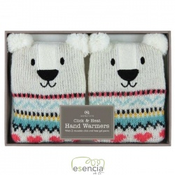 AROMA HOME KNITTED CALIENTA MANOS OSO POLAR