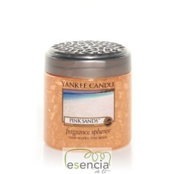 YANKEE FRAGRANCE SPHERES PINK SANDS