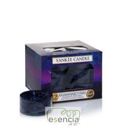 YANKEE TEA LIGHT KILIMANJARO STARS