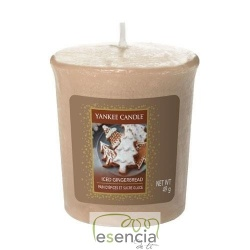 YANKEE COOKIE SWAP ICED GINGERBREAD VOTIVA
