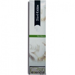 INCIENSO BLACK FLOR BLANCA 20 STICKS