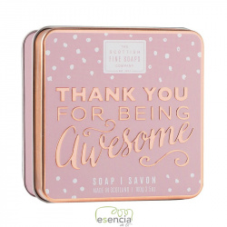 SOAP TIN THANK YOU FOR BEING AWESOME