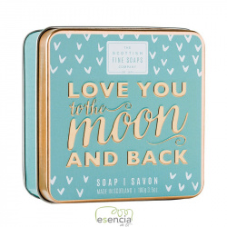 SOAP TIN LOVE YOU TO THE MOON AND BACK
