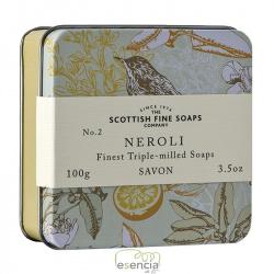 SOAP TIN VINTAGE NEROLI
