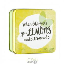 SOAP TIN WHEN LIFE GIVES YOU LEMONS