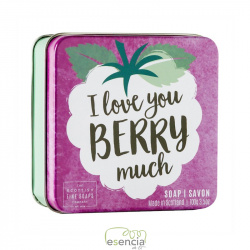 SOAP TIN I LOVE YOU BERRY MUCH