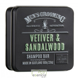 MEN'S GROOMING VETIVER CHAMPU SOLIDO