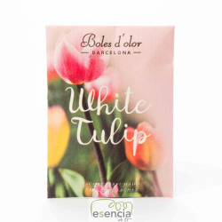 MINI SACHET WHITE TULIP