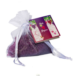 MINI RESINAS RED GRAPES 18 UN