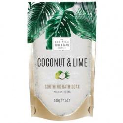 COCONUT & LIME SALES DE BAÑO RELAJANTES 500 GR