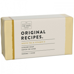 ORIGINAL RECIPES JABÓN 220 GR TÉ BLANCO Y VITAMINA E