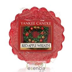 YANKEE TARTS RED APPLE WREATH