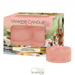 YANKEE TEA LIGHT GARDEN PICNIC