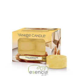 YANKEE TEA LIGHT SWEET HONEYCOMB