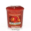 YANKEE VOTIVA SPICED ORANGE