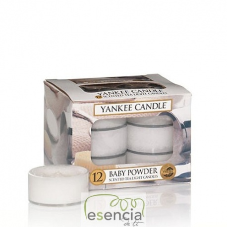 YANKEE TEA LIGHT BABY POWDER